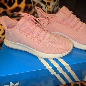 Adidas tubular shadow J pink